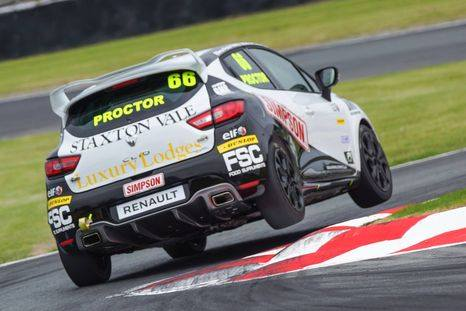 Vitamin Manufacturer Sponsored Race Driver